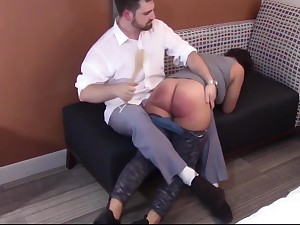 Spanking the Disobedience Relish in Mackenzie Reed