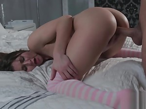 Cute Babysitter Paige Owens Caught Masturbating