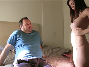 Chesty Spanish young girl picked up and shagged