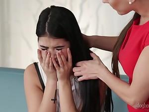 Murzynki nastolatki lesbijki