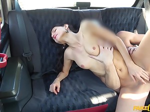 Lutro Steel stuffs Arian Joy yon tongue, fingers and cock