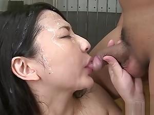 Pornstar Megumi's Dungeon 50 Shot Bukkake