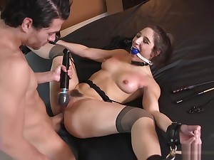 Abella Danger - Teen Sex Toy Used & Pussy Pounded
