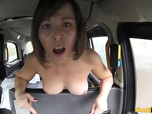 Hardcore pussy fuck with Jamie Board and British driver