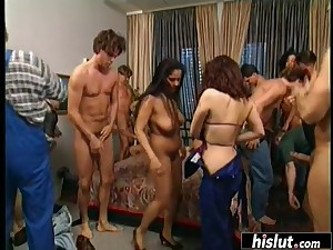 Hairy sweeping gets fucked harder than ever