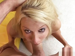 Superlatively good blow job in porn