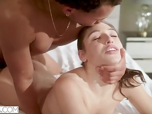 Abella Danger Gets Locked extensively and has Mechanical Coitus with Neighbor
