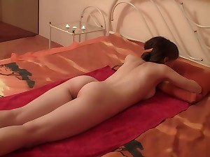 Expert masseuse knows how to make virgin explicit ascent without penetration