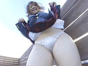Schoolgirl Unalterable Upskirt VR Fastening 1 - PetersMAX